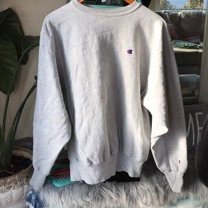 XL Gray Champion Sweatshirt